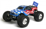 Spalinowy Team Associated - MGT 4.6 SE RTR Flag Body