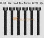 Cap Head Hex. Mechanical Screws 3*25 6P