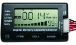 Miernik, tester akumulatorów - uniwersalny miernik do Lipol, LiF