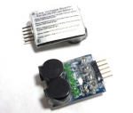 Wskaźnik napięcia LED + Buzzer LiPo 2-4S optyczno - akustyczny