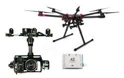 Hexacopter S900 ARF DJI + kontroler lotu A2 DJI + Gimbal Z15 BMP