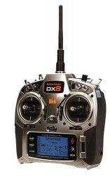 DX8 DSMX Spektrum sam nadajnik z aku i ładowarką