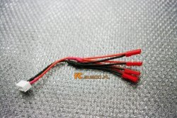 JST-XH to JST LED Power Distribution Lead (4 JST)