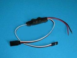 Fitec - adapter napięciowy BEC z jednym wyjściem.