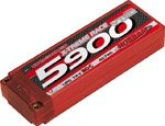 VTEC LiPo 2S1P 5900 Xtreme Race 50C - Hardcase