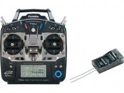 FUTABA T-10J 10-kanałowe komputerowe radio 2.4GHz FHSS/S-FHSS