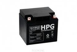 Bezobsługowy akumulator żelowy Pb 12V 33Ah