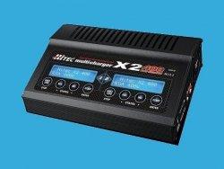 ŁADOWARKA HITEC - X2 multi charger 400 - podwójna