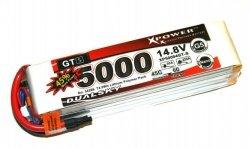 Akumulator Li-Po Dualsky 5000 mAh 45C/6C 14.8 V 4S