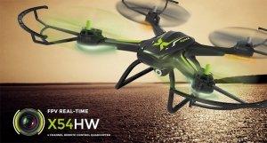 Dron SYMA X54HW WiFi Kamera HD Barometr FPV Podgląd na Smartphone
