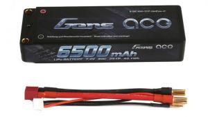 Akumulator Gens Ace 6500mAh 7,4V 50C 2S1P Hard Case