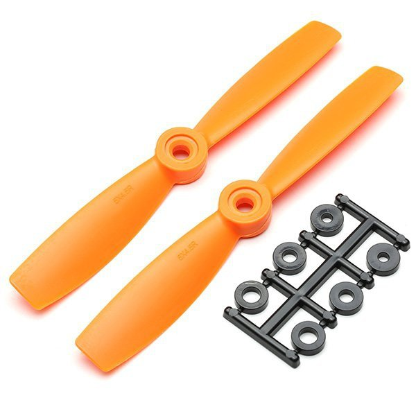 Śmigła HQProp bullnose 5,5x4,5 CCW - orange - śmigło 5545 do dro