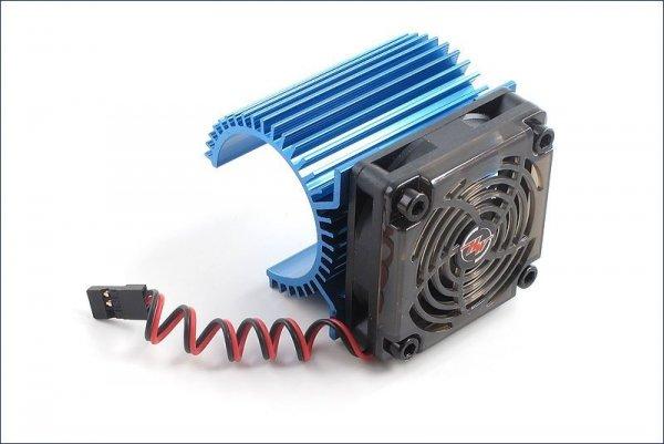 HobbyWing - Radiator na silnik klasy 540-600 z wiatraczkiem