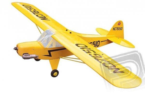 Black Horse - Piper J-3 Cub 1.84m ARF