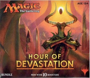 Magic The Gathering : Hour of Devastation Bundle