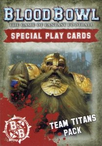 BLOOD BOWL CARDS:TEAM TITANS
