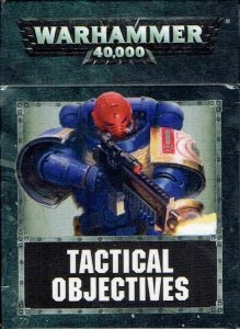 Warhammer 40000(8th) TACTICAL OBJECTIVE CARDS (ENG)