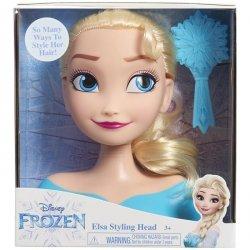 Frozen Kraina Lodu głowa do stylizacji Elsa - zafunduj księżniczce magiczną metamorfozę.