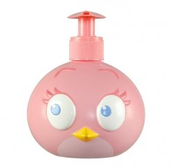 Angry Birds Stella Pink Bird mydło w płynie 3D 400 ml