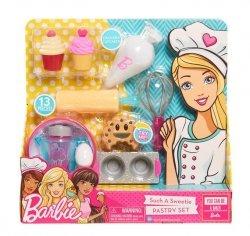 Barbie - Wyroby Cukiernicze - zestaw kulinarny  Wyczaruj słodkie co nieco!