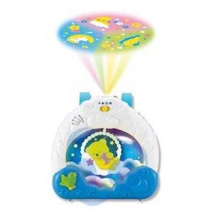 Uspokajacz z projektorem 3w1 - DZIECIĘCE SNY Smily Play - zapewni długi i spokojny sen