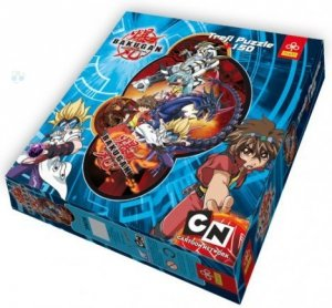 Trefl puzzle konturowe bakugan dan 150el 39028