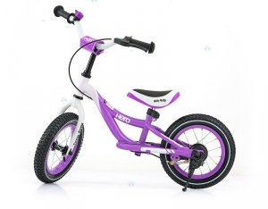 Rowerek biegowy HERO fioletowy - doskonała zabawa