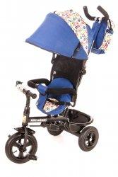 Rowerek trójkołowy Tobi Venture niebieski