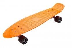 Deskorolka Fiszka 70cm - Deckboard 202 pomarańczowy