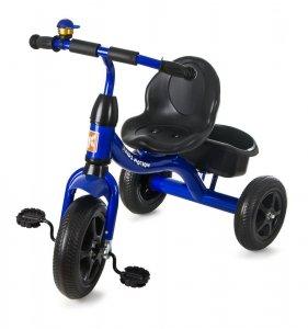 Rowerek Trójkołowy TOBI BASIC - Niebieski