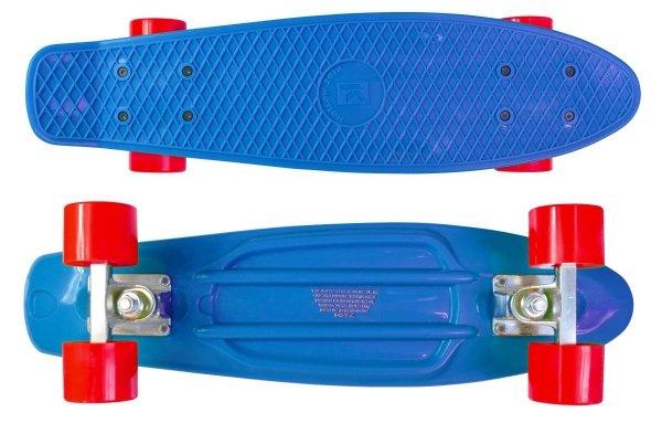 Deskorolka Fiszka 56cm - Deckboard 105 niebieski