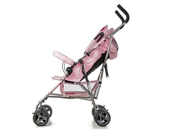 Wózek spacerowy Barton Różowy