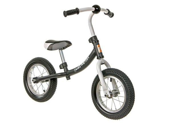 Rowerek biegowy Cody AIR pompowane koła - czarny