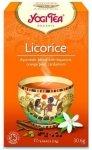 YOGI TEA®  Ajurwedyjska herbata korzenna SŁODKA Z LUKRECJĄ (Licorice Egyptian Spice)