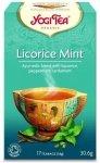 YOGI TEA® Ajurwedyjska herbata LUKRECJA Z MIĘTĄ (LICORICE MINT)