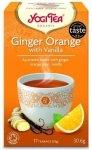 YOGI TEA® Herbata ajurwedyjska IMBIROWO-POMARAŃCZOWA Z WANILIĄ (Ginger Orange with Vanilla)