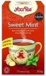YOGI TEA® Ajurwedyjska herbata SŁODKA MIĘTA z cytryńcem i czarną herbatą