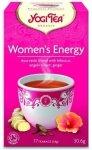 YOGI TEA® Herbata ENERGIA Dla Kobiety z hibiskusem, korzeniem dzięgla i imbirem (Women's Energy)