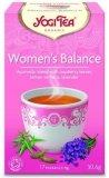 YOGI TEA® Ajurwedyjska herbata DLA KOBIETY - RÓWNOWAGA z liściem maliny, werbeną cytrynową i lawendą (Women's Balance)