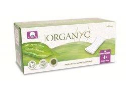 Organyc  Ekologiczne wkładki higieniczne  cienkie 100% ekologicznej bawełny 24 szt.