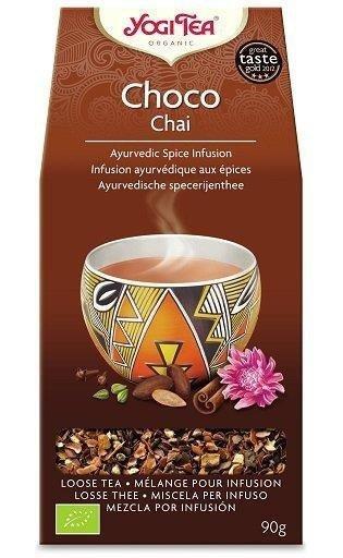 YOGI TEA® Herbata sypana CZEKOLADOWY CZAJ z dziedzictwa Azteków (Choco Chai Aztec Spice) 90 g