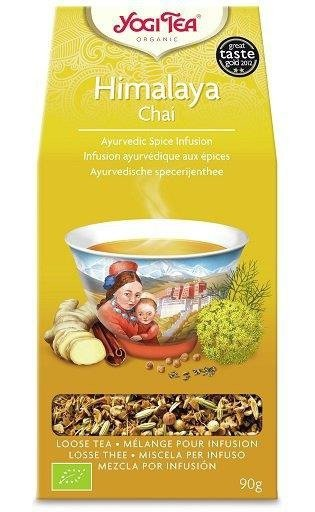 YOGI TEA®  Herbata sypana CZAJ Z HIMALAJÓW (Himalaya Chai) 90 g