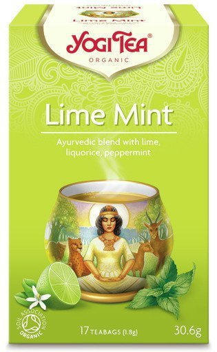 YOGI TEA® Herbata LIMONKA z MIĘTĄ (Lime Mint)