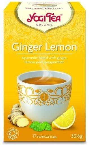 YOGI TEA® Herbata IMBIROWO-CYTRYNOWA (Ginger Lemon)