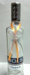 Zawieszki na alkohol pomarańczowo białe 10szt