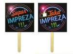 Tabliczki do fotobudek Super/Taka Impreza