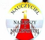 Medal  DREWNO duży   NAUCZYCIEL NAJLEPSZY Z ...