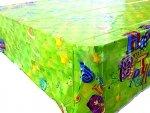 Obrus 140x180cm Happy Birthday 2 zielony - 1 szt