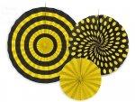 Rozety dekoracyjne  Pszczółka - 3szt