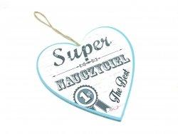 Serce SUPER NAUCZYCIEL - 011  1szt